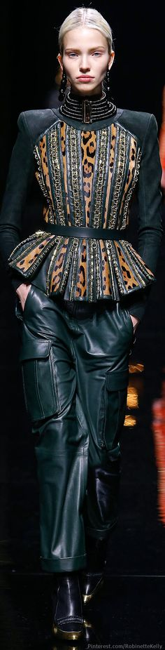 Balmain | F/W 2014 | The House of Beccaria#