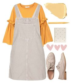 """""""129"""" by erohina-d ❤ liked on Polyvore featuring MANGO, Topshop, Nude, Gap, Sugar Paper and Too Faced Cosmetics"""