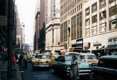 35mm slide shot by my dad in New York City in the late 1950s.