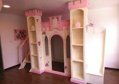 Nuevo proyecto entregado para una princesa :)  Fabricamos el mueble de tus sueños. Whatsapp: 2226112399  https://www.facebook.com/mueblesvintagenial #vintage #kids #love #bed #princesa