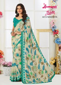 If modest magnificence is your signature vogue, then this #style of drapes by#Laxmipati Sarees is simply the Saree for you. Get It Now! #Catalogue #Zeeba #Design_Number: 4413 #Price - Rs. 1958.00  #Bridal #ReadyToWear #Wedding #Apparel #Art #Autumn #Black #Border #MakeInIndia #CasualSarees #Clothing #ColoursOfIndia #Couture #Designer #Designersarees #Dress #Dubaifashion #Ecommerce #EpicLove #Ethnic #Ethnicwear #Exclusivedesign Saree Collection, Bridal Collection, Laxmipati Sarees, Casual Saree, Dubai Fashion, Printed Sarees, International Fashion, Sarees Online, Party Wear