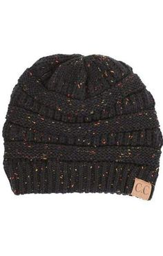 9a39f2c0c43 CC Confetti Knit Beanie - More Colors. - FINAL SALE - Affordable Boutique  Fashion Boutique