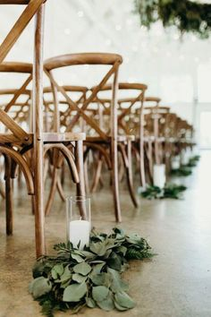 26 Budget Friendly Simple Outdoor Wedding Aisle Decoration Ideas - EmmaLovesWeddings - chic wedding aisle ideas with candles and greenery Best Picture For minimalist bullet journal For - Wedding Aisles, Wedding Ceremony Outline, Wedding Aisle Outdoor, Indoor Wedding Ceremonies, Wedding Ceremony Backdrop, Wedding Chairs, Chic Wedding, Wedding Backdrops, Wedding Ideas