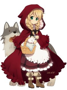 What if Little Red Riding Hood was born again? What kind of wolf would she face in the urban jungle?