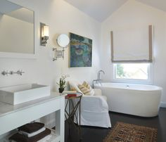 Eclectic Bathroom by Kate Jackson Design