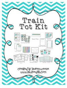 This+pack+contains+21+pages.  Includes:  -Book+Summary+for++your+book+of+choice+to+go+with+the+Kit -Flashcards+that+have+easy+to+trace+words -Counting+Train+Cars+for+working+on+numeric+order -Name+Plate+for+childs+name -Size+Sort+Trains -Letters+T+