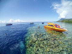 """""""Bunaken, Sulawesi Utara  Tag someone you want to travel with   Photo taken by @ilyasricky. Thanks for sharing :) Just tag us or use hashtag…"""""""