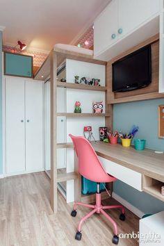 DORMITÓRIO IS - RIO BRANCO - / PORTO ALEGRE : Quarto infantil moderno por Ambientta Arquitetura