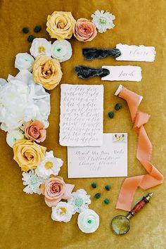 That Golden Glow Kind of Wedding   Friar Tux Emerald Wedding Dresses, Emerald Wedding Colors, Wedding Vendors, Wedding Gifts, Weddings, Wedding Things, Mustard Wedding Invitations, I Love You, Wedding Shoot