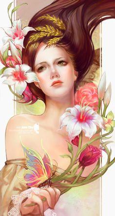 earth Goddess Demeter by jjlovely