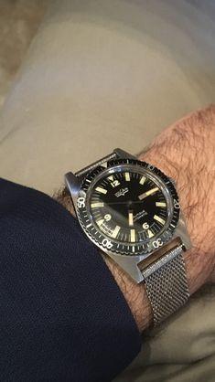 1965 Vulcan skinny divers watch. A true beauty.