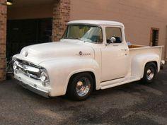 1956 Ford Pickup, 1956 Ford Truck, Old Ford Trucks, Lifted Chevy Trucks, Hot Rod Trucks, Cool Trucks, F100, Classic Pickup Trucks, Ford F Series