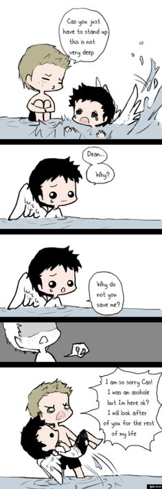 Supernatural- Dean and Cas