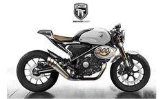 Galerías   Honda 300 TT Racer Concept: la 'café racer' de Honda   Soloscooter
