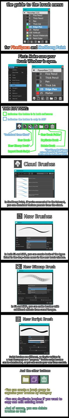 21 Best Medibang Brushes images in 2019