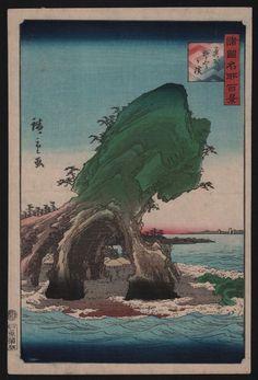 Utagawa Hiroshige II - Sotogahama Mutsu Province 1859