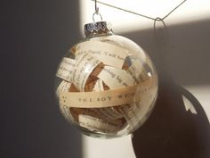 The Boy Who Lived, Harry Potter book page ornament for sale on Etsy