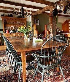 42 Beautiful Bohemian Dining Room Decor Ideas For Any Home Design Dining Room Design, Dining Room Furniture, Dining Room Table, Dining Decor, Space Furniture, Dining Set, Kitchen Decor, Furniture Design, Farmhouse Table Centerpieces