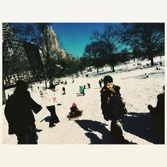 Central Park NYC. #documentaryphotography #lightandshadow #newyork #centralpark #blizzardjonas #streetphotography #hikaricreative #thephotomotel #snowday #instagood #ig_nycity #iphone #instaffix by lisa.scheer