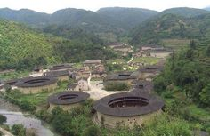 Green Home Building and Sustainable Architecture: Tulou Chinese Architecture