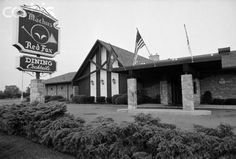 Machus Red Fox Restaurant, Bloomfield Township, MI.  Jimmy Hoffa went to lunch at this restaurant one day in 1975 and was never seen again.