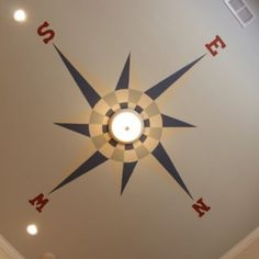 This would be perfect for the ceiling in my grandson's travel themed nursery!