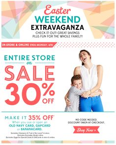 Old Navy Easter Campaign
