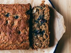 Banana Blueberry Coconut Bread + Saturday Links | Faring Well | #vegan #recipe