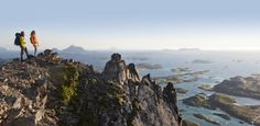 Stunning views of the Helgeland coast from the top of Rødøyløva, Norway - Photo: Terje Rakke/Nordic Life/www.nordnorge.com/Red Eye