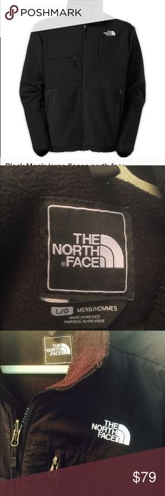 Men's Large North Face Jacket. Very good shape JUST REDUCED!!  Men's Large North Face Jacket in black. Very comfy. Gently worn North Face Jackets & Coats Performance Jackets