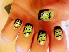 Lil Frankies Frankenstein Nails