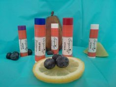 Better than Chapstick, amazing lip balm by Ostara Organics!  Enriched with Vitamin E, 14 flavors.  $1.25.