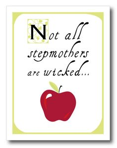 Would love to see Stepmom's be recognized for all the love they give instead of being seen as the wicket stepmother!
