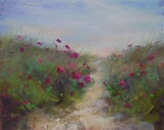 """""""My Guide to Painting Beautiful Places....Nantucket Island"""" - Original Fine Art for Sale - © Karen Margulis"""