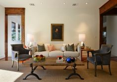 Soft Living Room Inspiration
