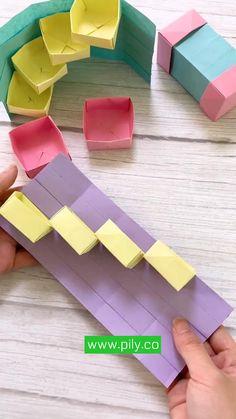 Diy Crafts Hacks, Diy Crafts For Gifts, Diy Home Crafts, Diy Arts And Crafts, Card Crafts, Magic Crafts, Creative Crafts, Cool Paper Crafts, Paper Crafts Origami