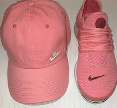 Uploaded by La_chica_Dz. Find images and videos about pink, nike and hat on We Heart It - the app to get lost in what you love. Sneakers Outfit Summer, Shoes Sneakers, Shoes Heels, Nike Presto, Cute Shoes, Me Too Shoes, Athletic Wear, Swagg, Discount Shoes