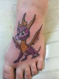 Image result for spyro tattoo