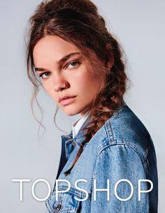 Topshop Escolhe as Modelos Mais Famosas da Atualidade para sua Campanha Jeans PrimaveraVero 2017  Fragmentos de Moda