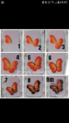 Fails art tutorial chic 51 ideas for 2019 Girls Nail Designs, Nail Art Designs Videos, 3d Nail Art, Nail Art Hacks, Ladybug Nails, Pop Up Flower Cards, Face Painting Tutorials, Butterfly Nail Art, Fabric Paint Designs