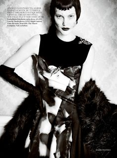 Catherine McNeil by Mario Testino for Vogue UK September 2013 4