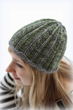 Gorgeous beanie! The information is in Finnish and there's a link to the Ravelry page - the pattern is from a Finnish book that will be published in English sometime in the future.  Missä neuloimme kerran: Kuusi