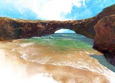 Natural Bridge in ARUBA --so beautiful :)