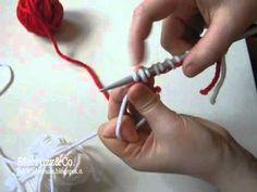 Avvio maglia tubolare/metodo alternativo (a quello classico)