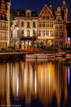 It is a gorgeous city! Beautiful Ghent, Belgium