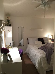 Our most recent bedroom makeover!  By The Modestly Chic Designers