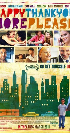 Directed by Josh Radnor.  With Josh Radnor, Malin Akerman, Zoe Kazan, Michael Algieri. Captures a generational moment - young people on the cusp of truly growing up, tiring of their reflexive cynicism, each in their own ways struggling to connect and define what it means to love and be loved.
