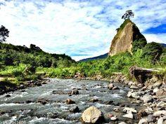 Takuruang Hill,  the canyon Sianok , Bukittinggi , West Sumatra - Indonesia