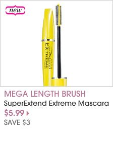 Go to great lengths! Gives the look of lash extensions. Lashes look up to 87% longer.* Magnetic Fiber Formula - magnetic fibers work like magnets to instantly attract lashes and extend them to extreme new lengths. Mega Length Brush - flexible lash-hugging bristles combine with precision comb bristles to build extra, extra long lashes. $5.99