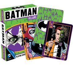 Collectables - DC Comics - Batman Villains Playing Cards